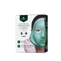 Shangpree Green Modeling Mask (Bowl + Spatula)